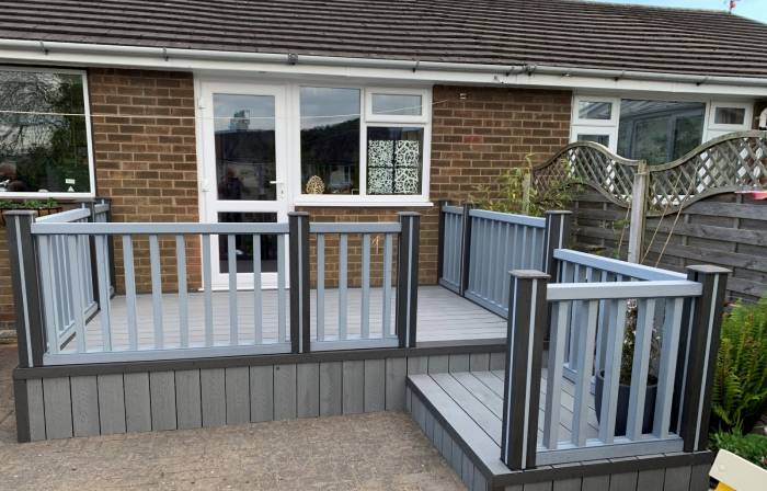 Composite Deck and Handrail