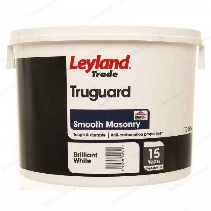 Leyland Trade - Truguard Smooth Masonry Paint