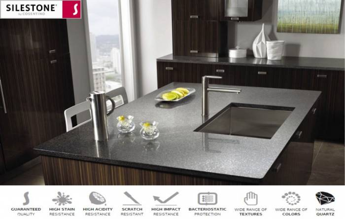 SILESTONE WORKTOPS - FULL SUPPLY & FIT SERVICE AVAILABLE